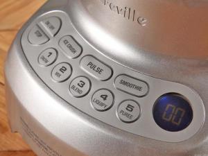 Breville blender controls