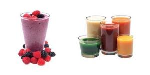 Smoothies vs. juices