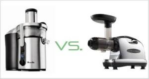 Centrifugal vs. masticating juicers