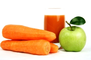 Gerson Therapy carrot-apple juice