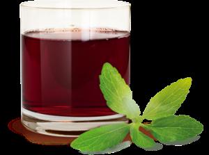 Strawberry, blueberry, raspberry apple juice