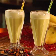Vanilla milkshakes