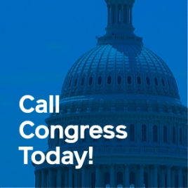 Call Congress Today.
