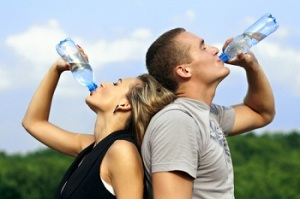 Drink water to boost your metabolism