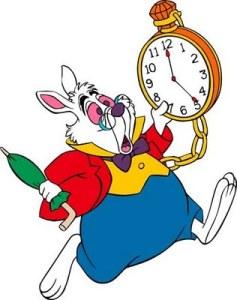 I'm late!