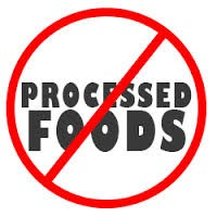 No processed foods