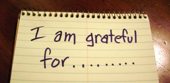 I am grateful for.