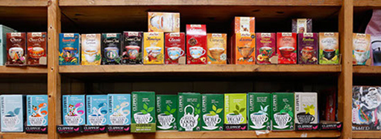 Boxed teas.